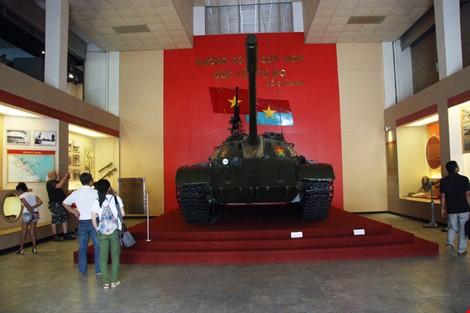 Hai chiếc xe tăng đầu tiên tiến vào Dinh Độc Lập giờ ra sao? ảnh 4