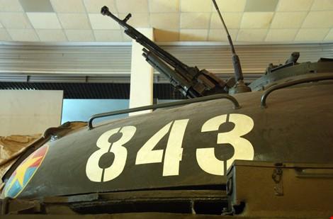 Hai chiếc xe tăng đầu tiên tiến vào Dinh Độc Lập giờ ra sao? ảnh 5
