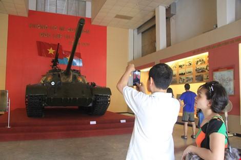 Hai chiếc xe tăng đầu tiên tiến vào Dinh Độc Lập giờ ra sao? ảnh 14