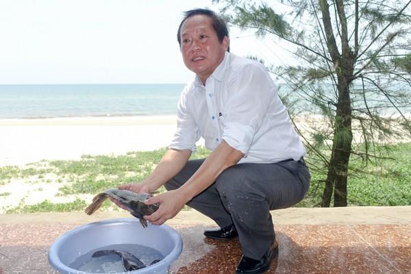 Kêu gọi không tẩy chay hải sản, Bộ trưởng, Chủ tịch cùng ăn cá biển ảnh 1