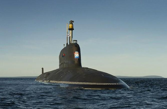 Video Tàu ngầm lớp Yasen của Nga phóng tên lửa Kalibr diệt mục tiêu trên bộ ảnh 2