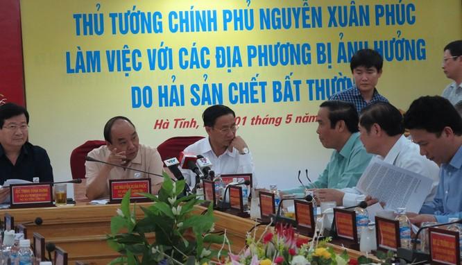 Thủ tướng Nguyễn Xuân Phúc: phải làm rõ nguyên nhân gây thảm họa ảnh 1