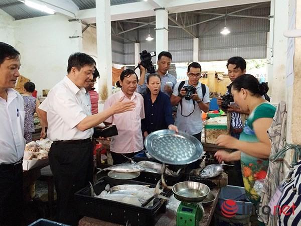 Sáng nay 3/5, cá biển sạch bắt đầu được bán ở các chợ Đà Nẵng ảnh 1