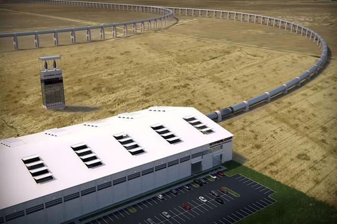 Video vụ thử tàu lửa siêu tốc Hyperloop đầu tiên đã thành công ảnh 3