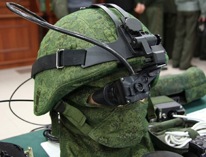 'Chiến binh', quân phục thông minh của lính Nga ảnh 4