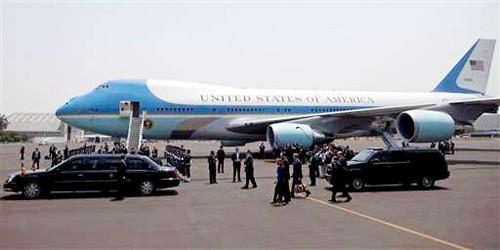 """Chuyên cơ Tổng thống Obama """"xài"""" dịch vụ gì ở Việt Nam? ảnh 2"""