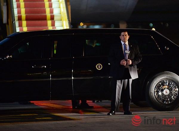 Video vòng bảo vệ cẩn mật của các mật vụ bảo vệ Tổng thống Obama tại Việt Nam ảnh 6