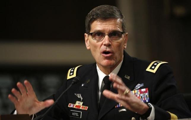 Tướng Mỹ bí mật đến Syria ảnh 1