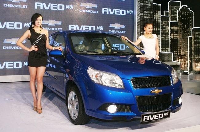 Xe cỡ nhỏ Aveo của GM Việt Nam. Ảnh minh họa: Quốc Hùng
