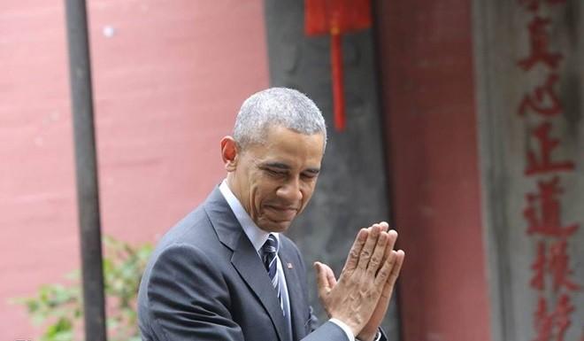 Sài Gòn nồng nhiệt chào đón Tổng thống Obama ảnh 5