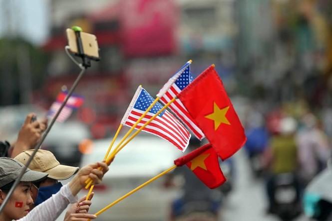 Sài Gòn nồng nhiệt chào đón Tổng thống Obama ảnh 13