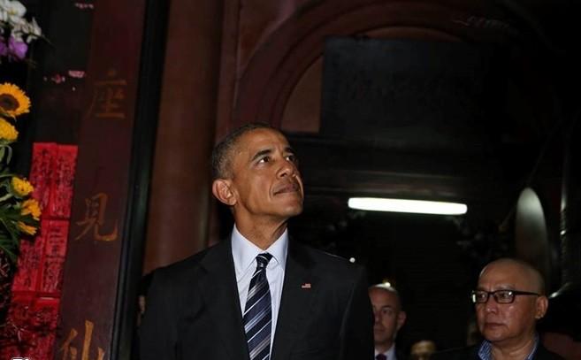 Sài Gòn nồng nhiệt chào đón Tổng thống Obama ảnh 7