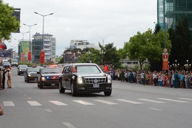 Sài Gòn nồng nhiệt chào đón Tổng thống Obama ảnh 8