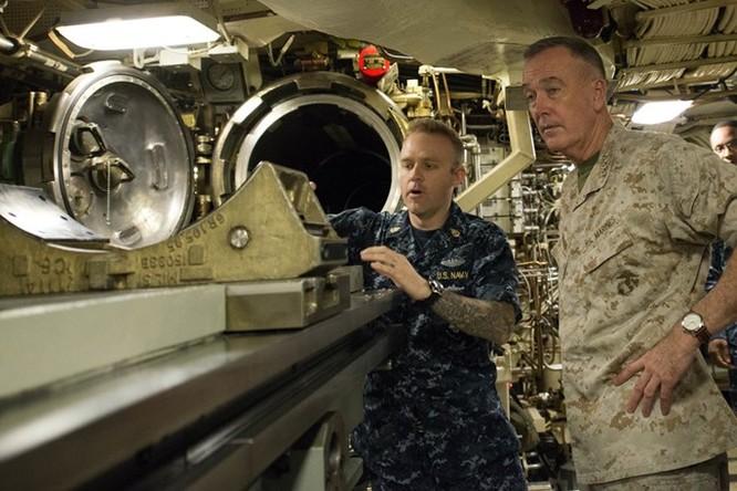 Cuộc sống bên trong một tàu ngầm hạt nhân Mỹ ảnh 6