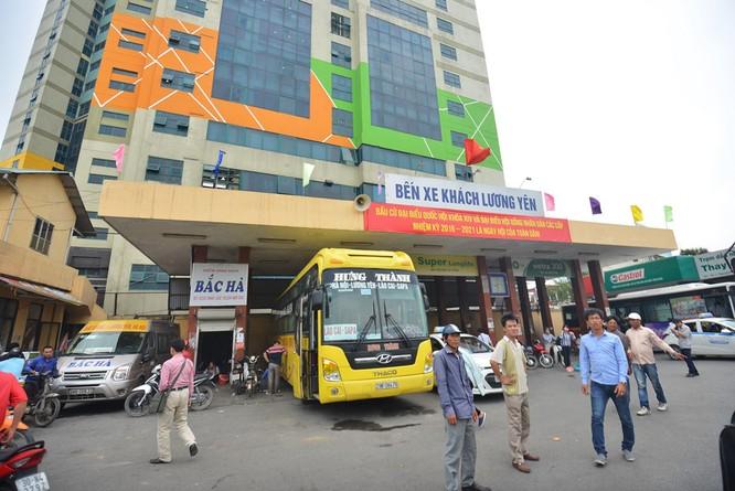 Bến xe khách Lương Yên nhếch nhác trước ngày di dời ảnh 2