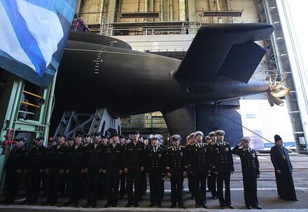 Nga hạ thủy tàu ngầm thế hệ thứ 5 lớp Varshavyanka cuối cùng ảnh 1