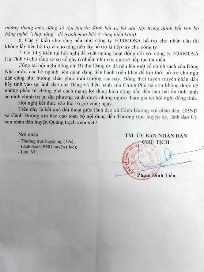 Quảng Bình: Ngư dân Cảnh Dương nêu 7 kiến nghị sau thảm họa cá chết ảnh 2