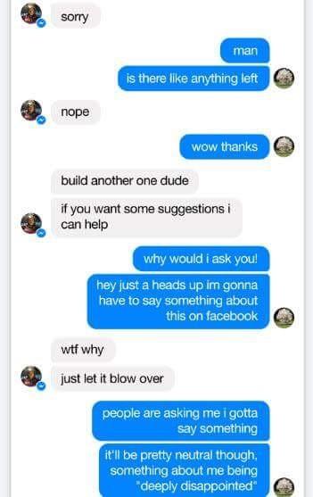 Hé lộ đoạn tin nhắn giữa Elon Musk và Mark Zuckerberg 5 phút sau vụ nổ SpaceX ảnh 3