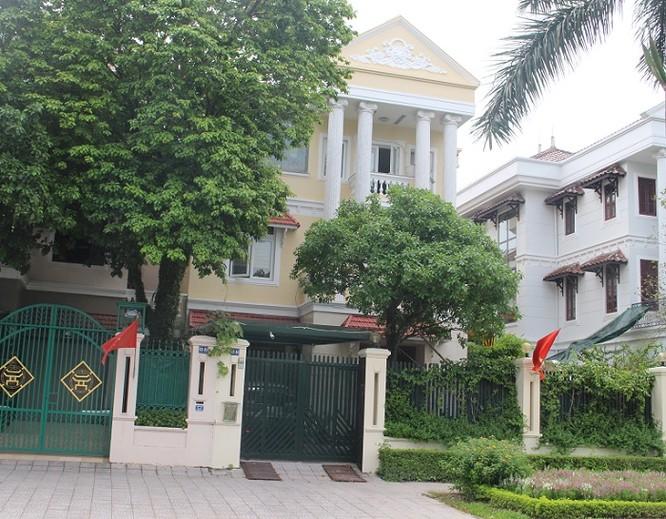 Căn Biệt thự tại khu đô thị Ciputra, Tây Hồ - Hà Nội của gia đình ông Trịnh Xuân Thanh