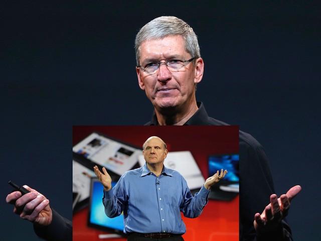 Tim Cook chính là Steve Ballmer phiên bản 2 và cũng rất có thể sẽ đưa Apple vào vũng lầy trước đây của Microsoft ảnh 1