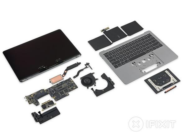 """Cận cảnh: """"Mổ bụng"""" Macbook Pro 13-inch 2016 ảnh 19"""
