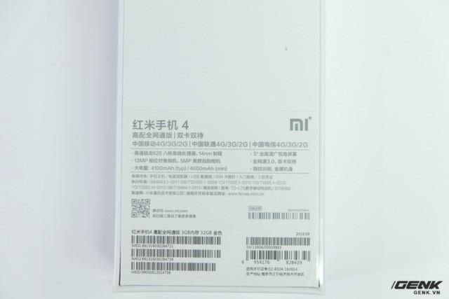 Hình ảnh Xiaomi Redmi 4 đầu tiên tại Việt Nam: Nâng cấp mạnh và giá rẻ giật mình ảnh 4