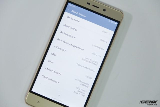 Hình ảnh Xiaomi Redmi 4 đầu tiên tại Việt Nam: Nâng cấp mạnh và giá rẻ giật mình ảnh 20