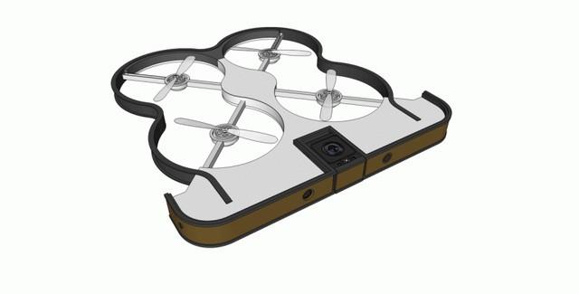 Chiêm ngưỡng ý tưởng điên rồ: Smartphone có camera bay ảnh 2