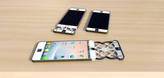 Chiêm ngưỡng ý tưởng điên rồ: Smartphone có camera bay ảnh 3