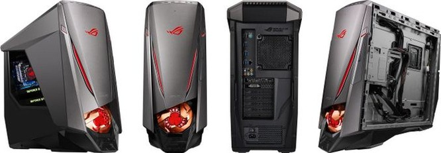 """Chiêm ngưỡng """"con quái vật"""" ASUS ROG GT51 giá 110 triệu: Intel Core i7-6700K ép xung sẵn, 2 chiếc GTX 1080, 64GB RAM ảnh 3"""
