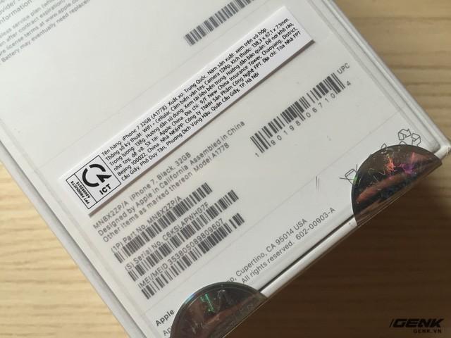 """Mua iPhone 7 """"chính hãng FPT"""" và nhận được hàng ZP/A: Định nghĩa """"chính hãng"""" đang ngày một mờ mịt? ảnh 3"""