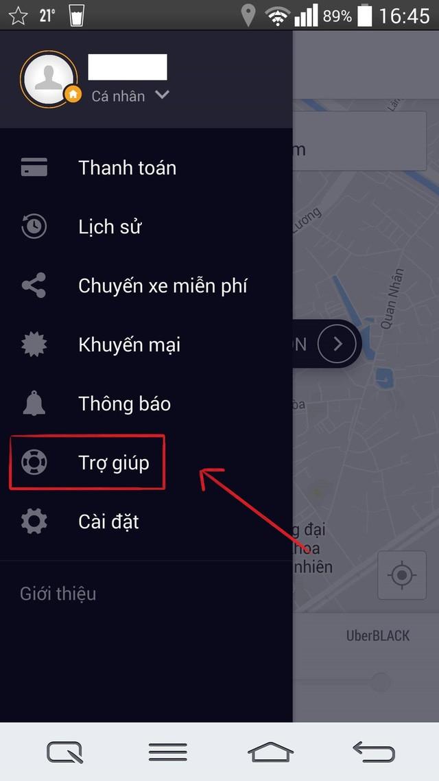 Làm gì khi gặp lỗi thanh toán trên ứng dụng Uber? ảnh 2