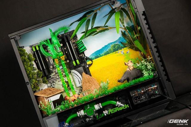 """Nổi bật với bộ máy tính có """"cây cau, giếng nước, lũy tre làng"""" ảnh 1"""
