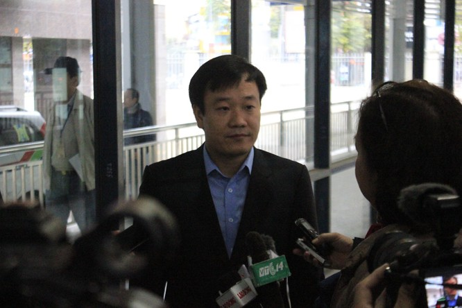 Ông Nguyễn Thủy - Giám đốc Xí nghiệp xe buýt nhanh BRT Hà Nội. Ảnh: Bùi Phú