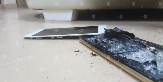 Lại xuất hiện trường hợp iPhone 6s bị nổ trong khi đang sạc pin ảnh 2