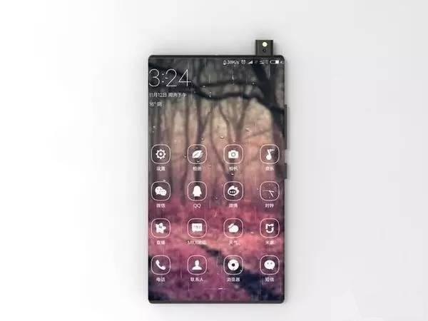 Xiaomi Mi Mix 2 lộ diện với thiết kế 100% màn hình, camera không tưởng ảnh 3