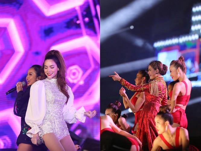 Hà Hồ, Suboi, Hoàng Thùy Linh với những màn trình diễn sexy mãn nhãn