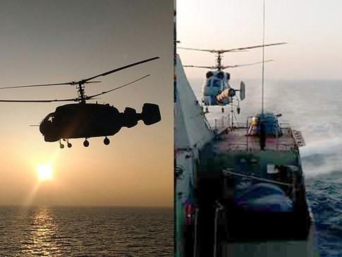 Video Chiến hạm Gepard Việt Nam rẽ sóng trên Biển Đen ảnh 1