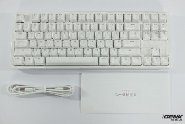 """Ảnh: """"Đập hộp"""" bàn phím cơ Xiaomi ảnh 4"""