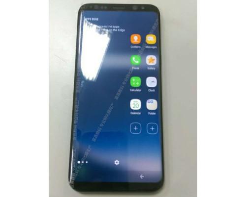 Lộ ảnh thực tế Galaxy S8 đang hoạt động ảnh 1