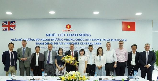 Anh chia sẻ tầm nhìn về chính sách thương mại với Việt Nam ảnh 1