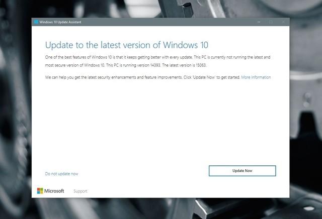 """Những cách giúp bạn sở hữu gói cài đặt Windows 10 Creators Update """"chính chủ"""" ảnh 2"""