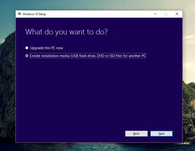 """Những cách giúp bạn sở hữu gói cài đặt Windows 10 Creators Update """"chính chủ"""" ảnh 7"""