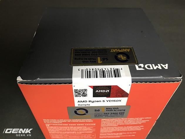 """CPU R5 1500X: Đập tan định kiến """"chip AMD là phải nóng, tốn điện"""" ảnh 1"""