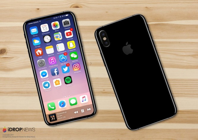 iPhone 8: Camera kép xếp dọc phía sau, màn hình chiếm trọn mặt trước? ảnh 2
