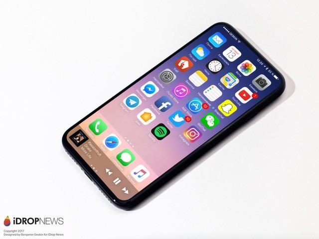 iPhone 8: Camera kép xếp dọc phía sau, màn hình chiếm trọn mặt trước? ảnh 4