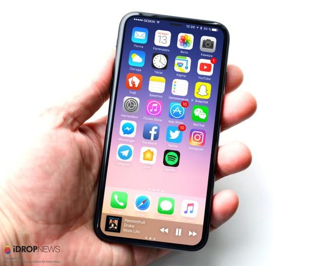 iPhone 8: Camera kép xếp dọc phía sau, màn hình chiếm trọn mặt trước? ảnh 5