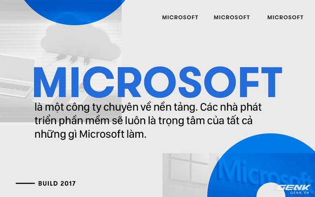 Tổng kết Microsoft BUILD 2017: Vô cùng buồn ngủ nhưng lại đánh dấu sự bất tử của hoàng đế Microsoft! ảnh 3