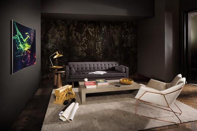 """Samsung """"biến"""" TV QLED thành tác phẩm trang trí nội thất như thế nào? ảnh 3"""