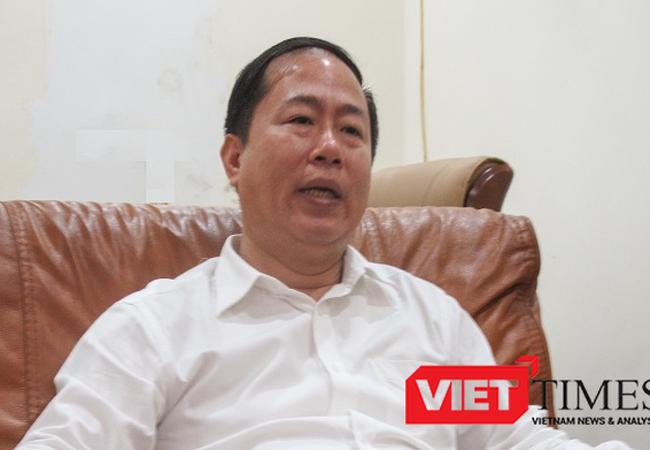 Ông Vũ Anh Minh - Chủ tịch HĐTV Tổng công ty đường sắt Việt Nam